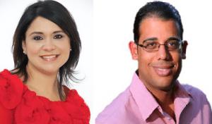 Senadores Mari Tere González y Gilberto Rodríguez, del Distrito Mayaguez-Aguadilla.