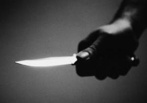 robo con cuchillo