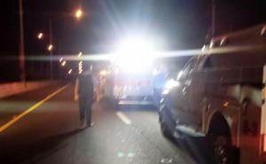 Parte de la escena del accidente (Foto Rescate Cortés).