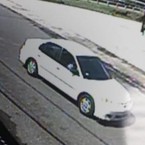 Automóvil en el que viajaba el sospechoso (Suministrada Policía).