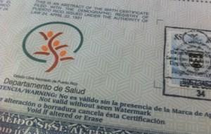 certificado nacimiento generico