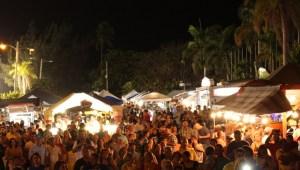 Vista parcial del Festival de la Ballena en Rincón (Suministrada).