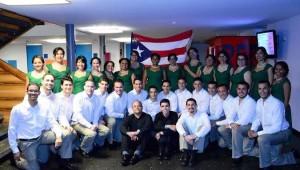 """El """"Chorium"""" del Recinto Universitario de Mayagüez figura entre los mejores tres coros del mundo (Suministrada RUM)."""