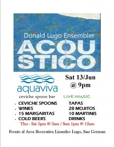 Aquaviva sabado 13 de junio