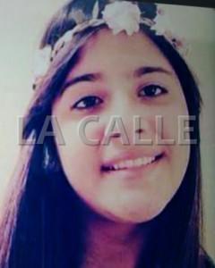La foto de la menor que circuló la Policía, tras ser reportada como desaparecida (Suministrada).