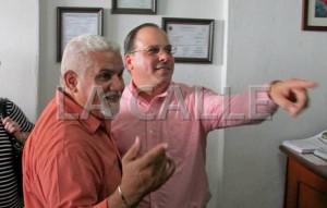 El representante Armando Franco y el presidente de la Cámara, Jaime Perelló (Archivo).