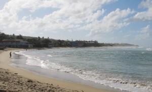 Vista de la playa Jobos de Isabela (Archivo).