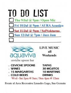 aquaviva list 8 julio