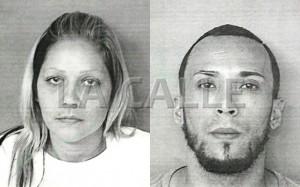 Fotos de las fichas de Flerida García Pardo y Gerardo García Pascual (Suministradas Policía).