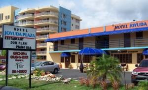 Hotel Joyuda Plaza en tiempos mejores (Foto Internet).