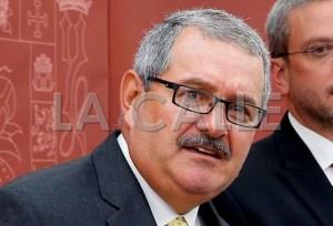 Coronel José Luis Caldero, Superintendente de la Policía (Archivo).