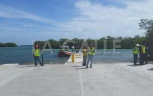 """Así quedaron las nuevas facilidades de la rampa para botes de """"Las Crayolas"""" en La Parguera (Suministrada DRNA)."""
