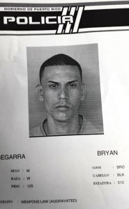 Ficha de Bryan Segarra (Suministrada Policía).
