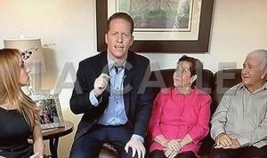 El doctor David Bernier anuncia su aspiración a la gobernación por el PPD (Captura de pantalla - Telemundo).
