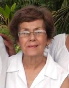 Doña María Nilda Ramos Caro (Archivo).