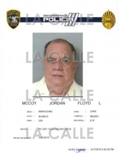 """Ficha oficial del sacerdote Floyd McCoy Jordán. Haga """"click"""" sobre la imagen para ampliarla (Suministrada Policía)."""