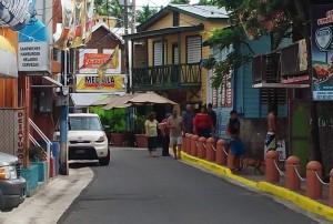 Vista parcial del poblado de Boquerón en Cabo Rojo (Archivo).