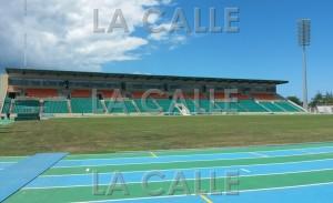 Parte de las gradas del Estadio Centroamericano (Foto LA CALLE Digital).