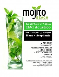 mojito weekend 22-23 abril