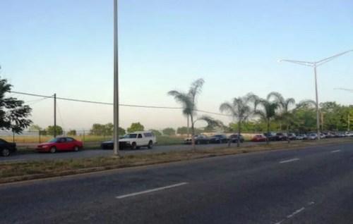 Zona donde todos los domingos se ubica el pulguero en la carretera PR-64 en el barrio Maní de Mayagüez.