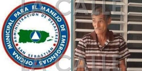 El cuerpo de Don Emiliano fue encontrado por personal de Manejo de Emergencias del Municipio de San Sebastián.