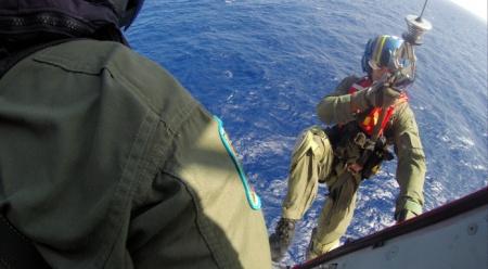 Efectivos de la Guardia Costera participaron en la recuperación del cadáver (Archivo).