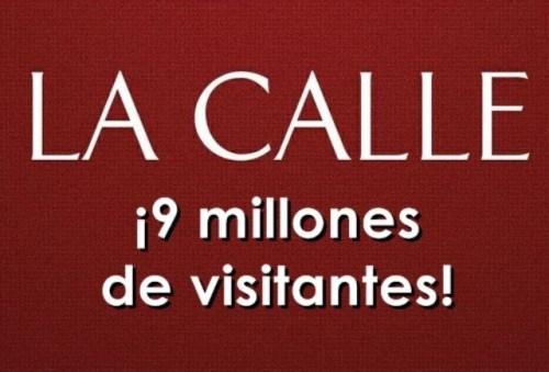 Nueve millones de visitantes y contando... ¡En ruta a los 10 millones!