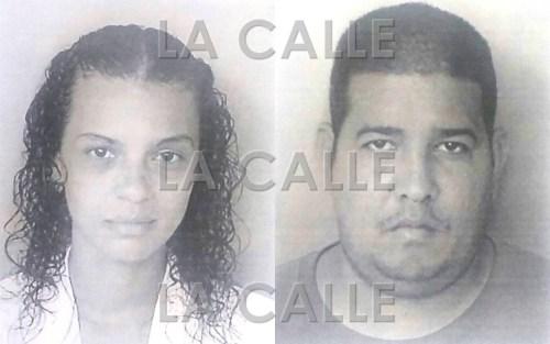 Fotos de las fichas de Bernarda Ortiz Mercado y Luis O. Pagán Pérez (Suministradas Policía).