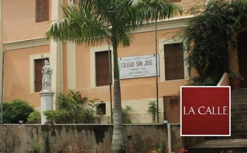 Fachada del Colegio San José de San Germán (Archivo/LA CALLE Digital).