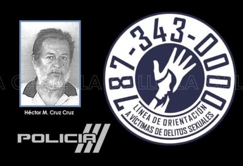 Foto de la ficha de Héctor Manuel Cruz Cruz (Suministrada/Policía).