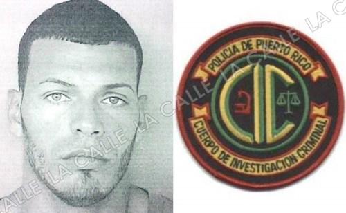 """Foto de la ficha de Ramón Rivera Muñiz, alias """"Guato"""", asesinado en San Germán (Suministrada/Policía)."""