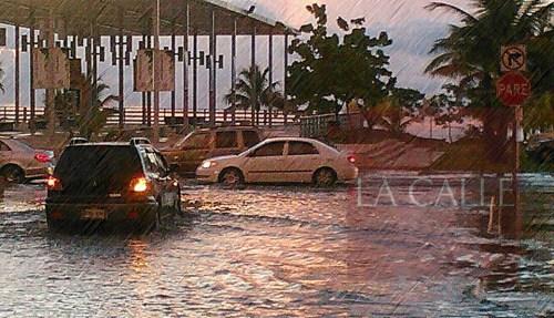 El área de El Litoral de Mayagüez es uno de los sectores frecuentemente afectados por las inundaciones (Archivo).