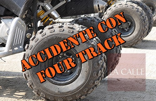 four track accidente wm
