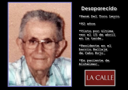 Rene Del Toro Leyro (desaparecido)