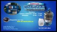 Dream Water cuarentena