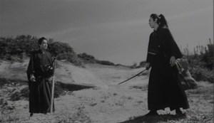 Samurai Fiction - Kazamatsuri fordert Mizoguchi zum Kampf heraus