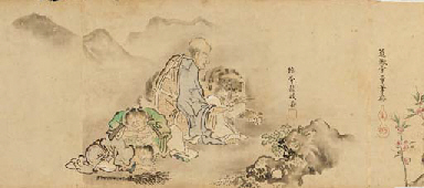Makimono (zu Jacques Lacan, Lituraterre I - Buchstabe vs. Signifikant)