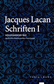 Titelseite von Jacques Lacan: Schriften I, Gondek-Übersetzung