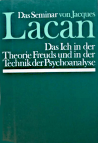 Jacques Lacan, Seminar 2, Das Ich, Walter 1980, Titelseite