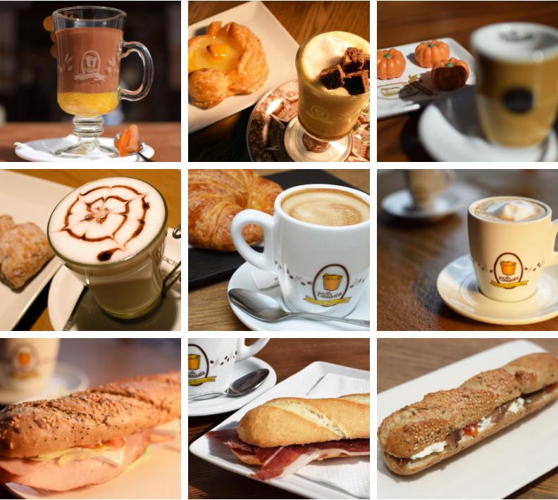 Canasta Sevilla nuestra cafetería