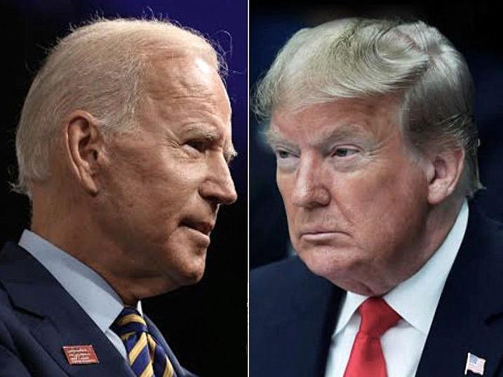 Trump y Biden preparan su primer cara a cara, un debate «aguerrido»