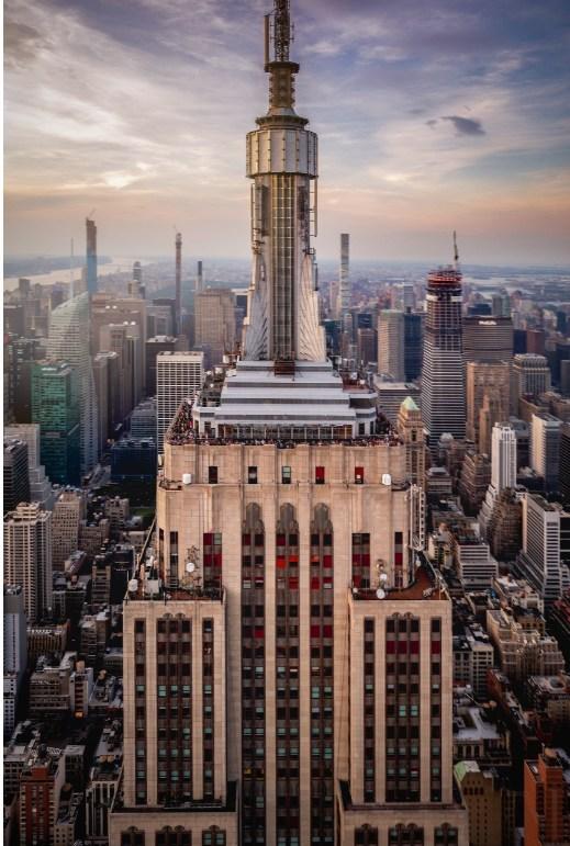 El Empire State Building lanza el noveno concurso anual de fotografía con un gran premio de $5000 y un vuelo de FlyNYON