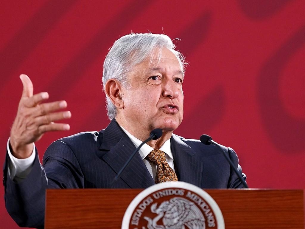 López Obrador considera «afortunado» que se disolviera la caravana migrante