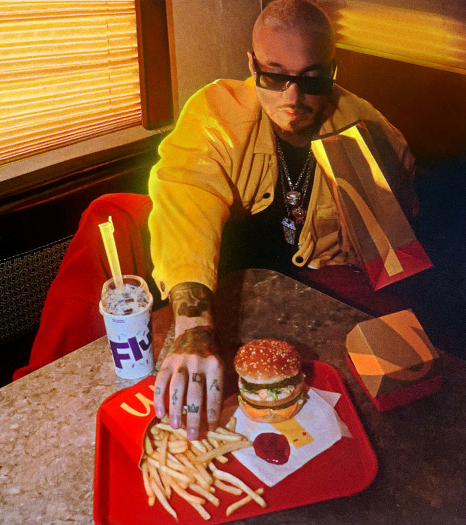 McDonald's le da la Bienvenida a la Orden de J Balvin en los Menús de Todo EE.UU.