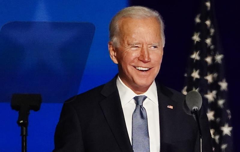 Biden: «Seré un presidente que unificará, no veré estados azules y rojos sino estados unidos»