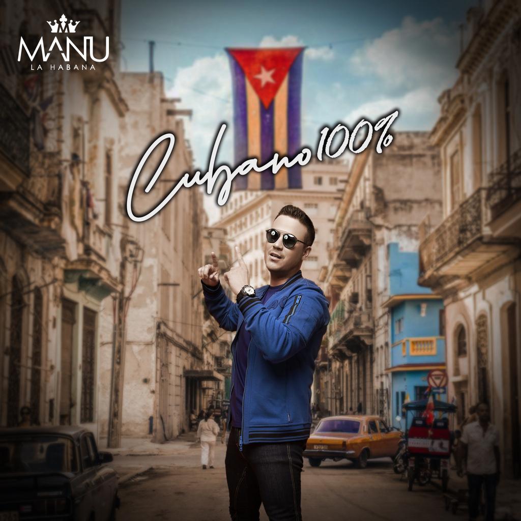 """Manu La Habana nos cuenta lo que es ser """"Cubano 100%"""" en su nuevo hit global"""