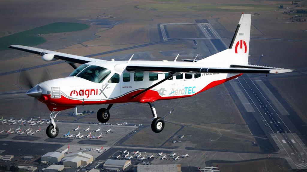 Las pruebas de vuelo de magniX demuestran que las aeronaves eléctricas reducen la contaminación acústica