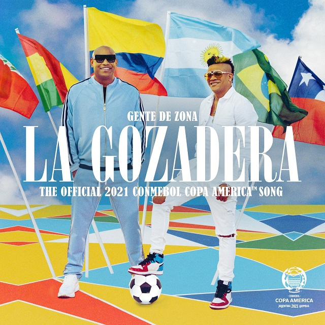 """Gente De Zona Presenta """"La Gozadera"""", La Cancion Oficial De Conmebol Copa América"""