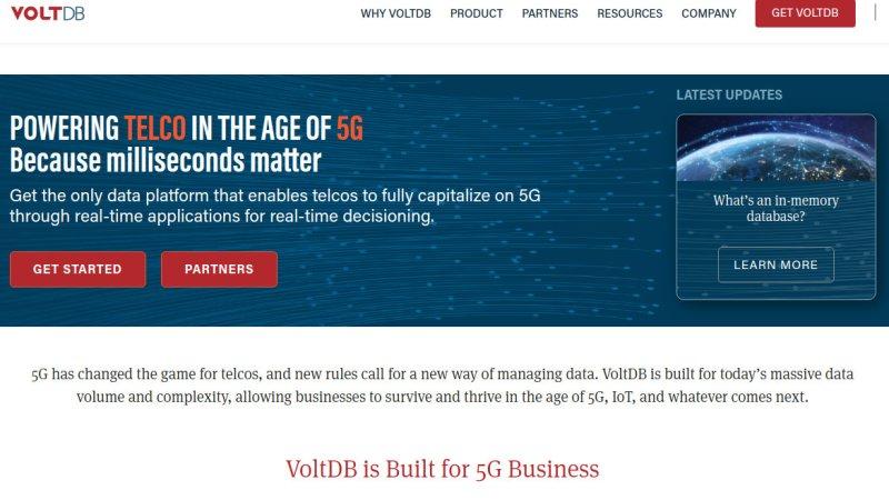 VoltDB se asocia con Google Cloud para aplicaciones 5G Edge
