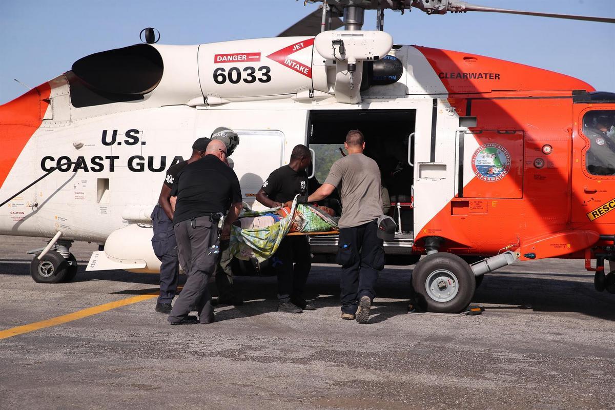 Una joven haitiana herida en terremoto es trasladada de emergencia a Florida